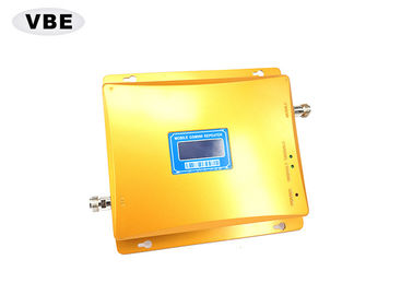 Golden Color Mobile Signal Booster 3000 - 5000m² Built Overarea For Basements